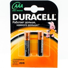 Батарейка Duracell AAA LR03 Basic [BL2/20/60]