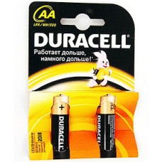 Батарейка Duracell AA LR6 Basic [BL2/40/120]