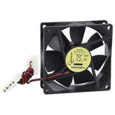 Вентилятор 80x80x25 для СБ питание 4pin от HDD [Gembird FANCASE-4]