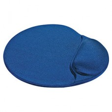 Коврик для мыши Defender гелевый с гелев.подушкой, синяя лайкра нескользящ.основа [50916]