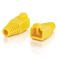Колпачок для коннектора RJ-45 желтый, PVC