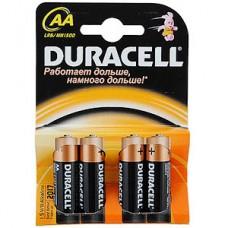 Батарейка Duracell AA LR6 Basic [BL4/80/240]
