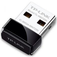 Адаптер беспроводной TP-LINK TL-WN725N 802.11n 150M, мини, USB