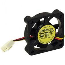 Вентилятор 40x40x10, втулка, 3 pin, провод 25 см, Gembird [D40SM-12A-25]