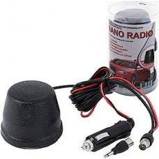Антенна активная NANO RADIO, УКВ/FM, до 150км, на магните, сверхкомпактная