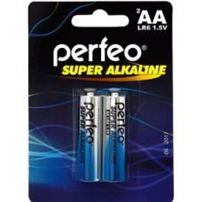 Батарейка Perfeo AA LR6 Alkaline [BL2/60] [PF LR6/2BL]