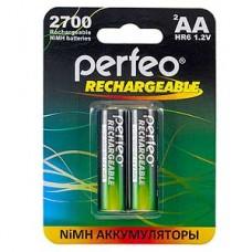 Аккумулятор Perfeo AA 2700 [BL2/60] [PF AA2700/2BL]