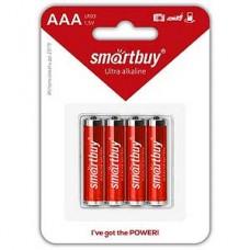 Батарейка SmartBuy AAA LR03 [BL4/48/480] [SBBA-3A04B]