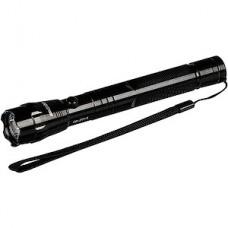Фонарь 1W, 2xAA, черный алюминиевый, Smartbuy [SBF-600-K]