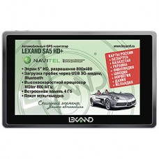 Навигатор GPS LEXAND SA5 HD+, Navitel 9 стран