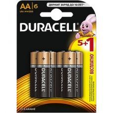 Батарейка Duracell AA LR6 Basic [BL6/80/240]