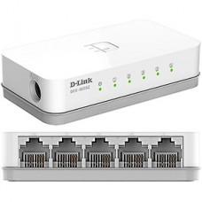 Коммутатор D-Link DES-1005C 5port 100/100TX неуправляемый компактное исполнение