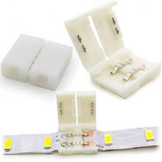 Коннектор для ленты 10мм (SMD5050/5630), 2pin двухсторонний без провода [SBL-10mm5050]