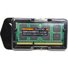 Модуль памяти SO-DIMM DDRIII-1600 8Gb QUMO RTL 1,35V [QUM3S-8G1600C11L]