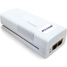Инжектор питания PoE PV-Link PV-POE01GB, 1xPoE 802.3af 10/100/1000Mbps, 15.4Вт