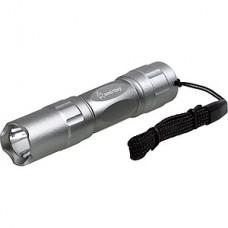 Фонарь 0,5W, серебристый алюминиевый, Smartbuy [SBF-401-S]