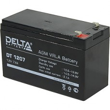 Батарея для UPS 12В/7Aч, Delta [DT 1207] [5]