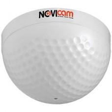 Микрофон активный NOVIcam AM510G, DC 12В 0.02А, дальность 10м, 20-20000Гц, с/ш 55дБ, внутренний