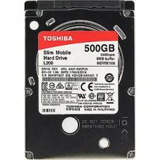 Жесткий диск  2.5''  500Gb TOSHIBA HDWK105UZSVA L200 Slim SATA-III 5400rpm 8Mb