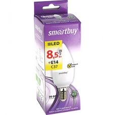 Лампа LED Smartbuy E14/C37 свеча, 8.5W, 3000K, 700Лм [SBL-C37-8_5-30K-E14]