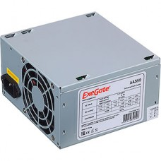 Блок питания 350W ExeGate ATX-AA350, 8cm fan, 24+4pin, 2*SATA, 1*IDE