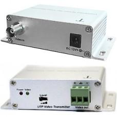 Видеопередатчик сигнала Satvision SVT-117T, активный до 2400м по BNC, 0-8 Мгц, DC 12V 0,5А