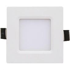 Светильник встраиваемый квадратный,  3W, 4000К, 210Лм, 90x80x25, IP40, IN HOME SLP-eco [021.0229]