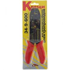 Инструмент для зачистки и обжима электропроводов, Hobbi [34-9-600/2248583]