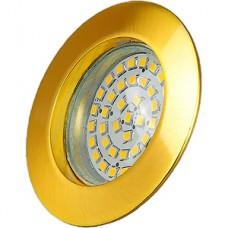 Светильник встраиваемый для ламп GU5.3/MR16, d60, ELVAN [8 SG] мат.золото