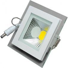 Светильник встраиваемый квадратный,  6W, 4000K, 420Лм, 95х95x35, COB, ELVAN [VLS-703SQ-6W-4000K]