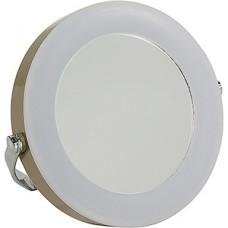 Зеркало с LED подсветкой, Zoom 5+, настольное, champagne, Smartbuy [SBL-Mr-008-Champagne]