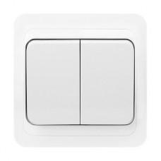 Выключатель с/у 2-кл 10А, SmartBuy