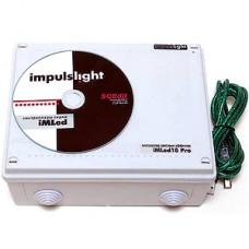 Контроллер iMLed18_Pro (18 кан, 15А/кан, 960Вт, 5-25В, программируемый, синхронизация, ДУ, IP54)
