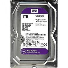 Жесткий диск 1.0Tb WD WD10PURZ Purple SATA-III 5400rpm 64Mb, для видеонаблюдения