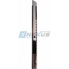 Нож универсальный  9мм, металлический корпус с клипсой, REXANT [12-4906]