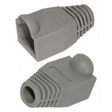 Колпачок для коннектора RJ-45 серый, PVC