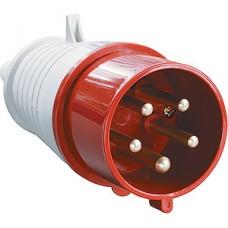 Вилка силовая переносная ССИ-025, 3P+PE+N, 32А, 380В, IP44, IEK [PSR02-032-5]