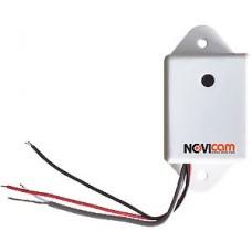 Микрофон активный NOVIcam AM710W, DC 12В 0.02А, дальность 10м, 20-20000Гц, с/ш 55дБ, уличный