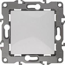 Выключатель с/у 1-кл 10А, без м.лапок, ЭРА12 [12-1001-01] белый