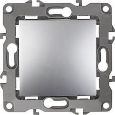 Выключатель с/у 1-кл 10А, ЭРА12 [12-1101-03] алюминий