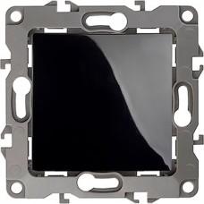 Выключатель с/у 1-кл 10А, ЭРА12 [12-1101-06] чёрный