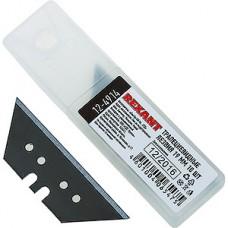 Лезвия для ножей трапециевидные 19мм, набор 10 шт, REXANT [12-4914]
