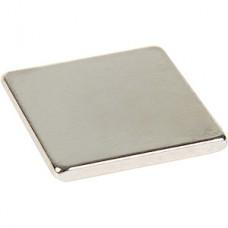 Магнит неодимовый пластина 10*10*1мм, сцепление 0.6кг. упак.10шт REXANT [72-3402]