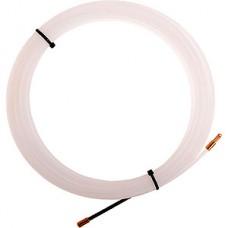 Протяжка кабельная 3мм, 10м, нейлон, латунный наконечник, заглушка, REXANT [47-1010-1]