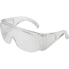 Очки защитные, прозрачные, открытого типа, ударопрочный материал, LOM [1926118]