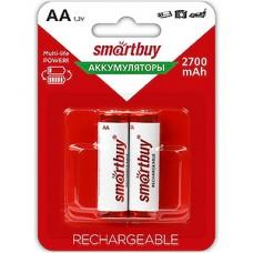Аккумулятор SmartBuy AA 2700 [BL2/24] [SBBR-2A02BL2700]