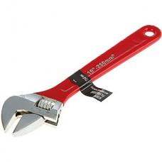 Ключ разводной 250мм, обрезиненная рукоятка, LOM [1647009]