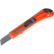 Нож универсальный 18мм, квадратный фиксатор, LOM [1818325]