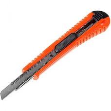 Нож универсальный  9мм, усиленный, квадратный фиксатор, LOM [1818327]