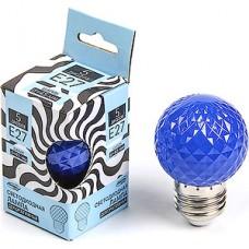 Лампа LED декоративная Luazon, Шарик d=45 мм, 5xSMD2835, СИНИЙ [2580336]